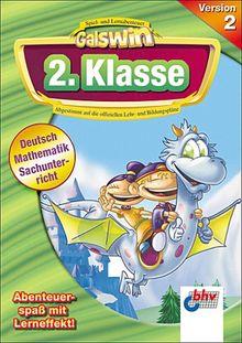 Galswin Version 2, CD-ROMs : 2. Klasse, 1 CD-ROM Deutsch, Mathematik, Sachunterricht. Für Windows 98/Me/XP. Abgestimmt auf d. offiziellen Lehr- u. Bildungspläne. Multilingual: Englisch, Deutsch, Spanisch, Französisch