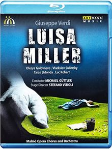 VERDI: Luisa Miller (Live from Malmö Opera, Sweden, 2012) [Blu-ray]