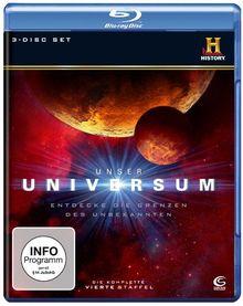 Unser Universum - Staffel 4 (History) (3 Blu-rays)