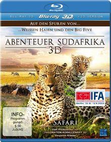 Abenteuer Südafrika 3D - Auf den Spuren von weißen Haien und den Big Five - Safari [3D Blu-ray]