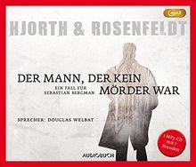Der Mann, der kein Mörder war (MP3-CD) (Die Fälle des Sebastian Bergman)