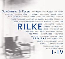 Rilke Projekt I-IV: Bis an alle Sterne / In meinem wilden Herzen / Überfließende Himmel / Weltenweiter Wandrer.