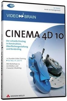Cinema 4D 10 - Video-Training (PC+MAC-DVD)