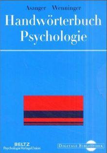 Handwörterbuch Psychologie. (Digitale Bibliothek 23)