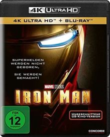 Iron Man (4K Ultra HD) (+ Blu-ray)