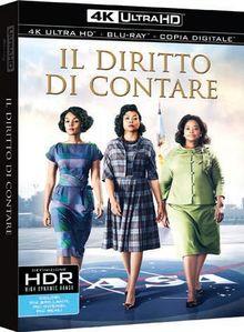 Blu-Ray - Diritto Di Contare (Il) (Blu-Ray 4K Ultra HD+Blu-Ray) (1 Blu-ray)