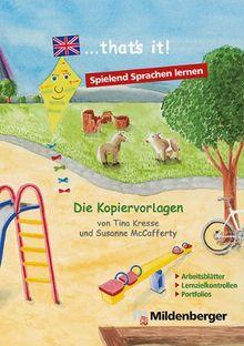 """... that's it!"""" - Die Kopiervorlagen: Arbeitsblätter und Tests zu den Themen von """"... that's it!"""