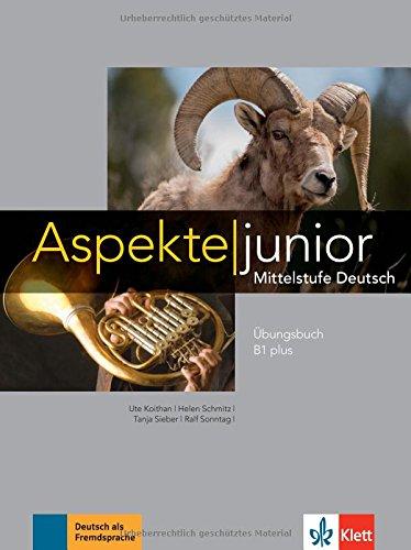 Aspekte Junior B1 Plus Mittelstufe Deutsch übungsbuch Mit Audio