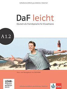 DaF leicht / Kurs- und Übungsbuch mit DVD-ROM A1.2
