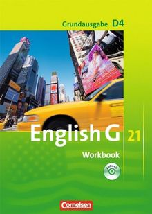 English G 21 - Grundausgabe D: Band 4: 8. Schuljahr - Workbook mit CD