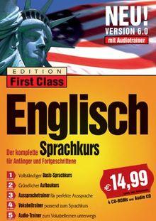 First Class Sprachkurs 6.0 Englisch (4 CD-ROMs + 1 Audio-CD)