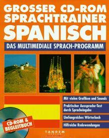 Großer CD-ROM Sprachtrainer Spanisch