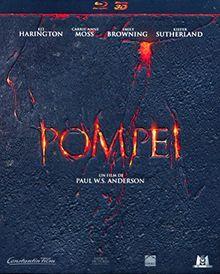 Pompeii Blu.ray Combo-Box (Blu-Ray 3D + Blu-Ray 2D) in Präge-Schuber ohne deutschen Ton