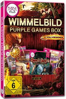 Wimmelbild Purple Games Box [
